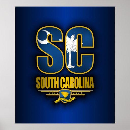 Carolina del Sur (SC) Posters