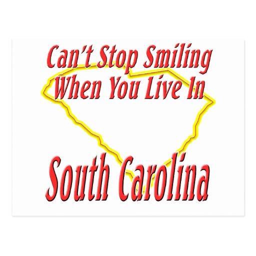 Carolina del Sur - sonriendo Postales