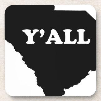 Carolina del Sur Yall Posavasos De Bebida