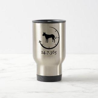 Carolina Dog 15 Oz Stainless Steel Travel Mug