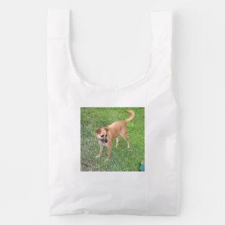 carolina dog full 2 reusable bag