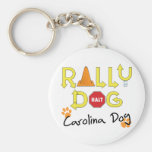 Carolina Dog Rally Dog Key Chains