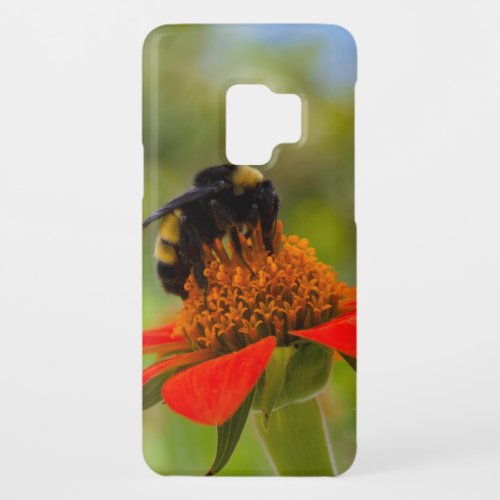 Carolina Dreaming Bumblebee On Mexican Sunflower   Phone Case