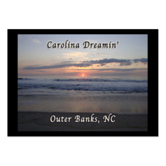 Carolina Dreaming Outer Banks NC Business Cards