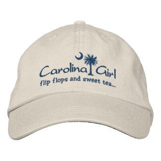 Carolina Girl Flip Flops and Sweet Tea Hat Baseball Cap