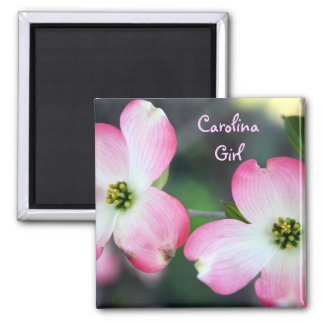 Carolina Girl Pink Dogwood Magnet