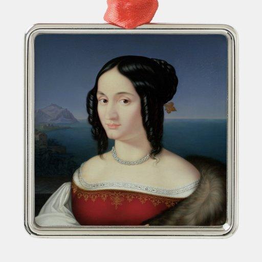 Carolina Grossi, la primera esposa del artista Adorno