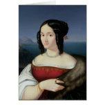 Carolina Grossi, la primera esposa del artista Tarjetas