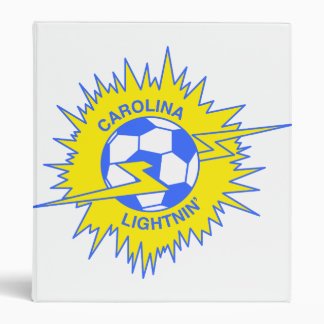 Carolina Lightnin 3 Ring Binder