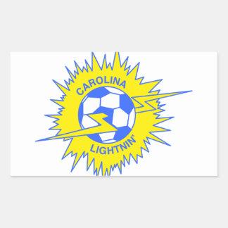 Carolina Lightnin Rectangular Sticker