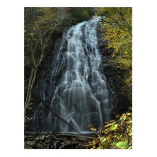 Carolina Mountain Waterfall Photo Postcard