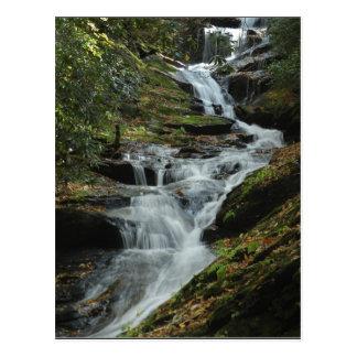 Carolina Mountain Waterfall Photo Postcard 2