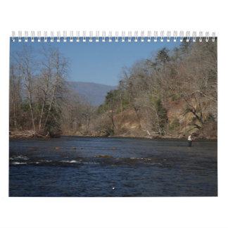 Carolina Mountieans Calendario De Pared