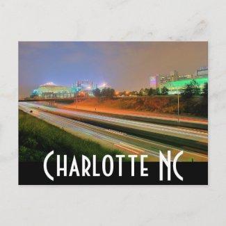 carolina panthers postcard