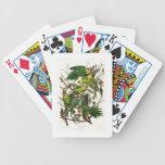 Carolina Parrot John Audubon Birds of Ameria Bicycle Playing Cards
