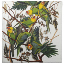 Carolina Parrot - John James Audubon (1827-1838) Napkin