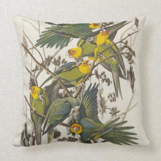 Carolina Parrot - John James Audubon (1827-1838) Pillow