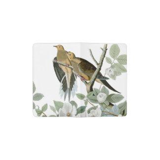 Carolina Pigeon John James Audubon Birds Pocket Moleskine Notebook