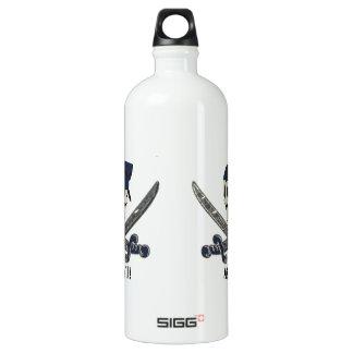 Carolina Pirate Aluminum Aluminum Water Bottle