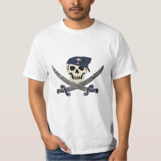 Carolina Pirate Jolly Roger T-Shirt