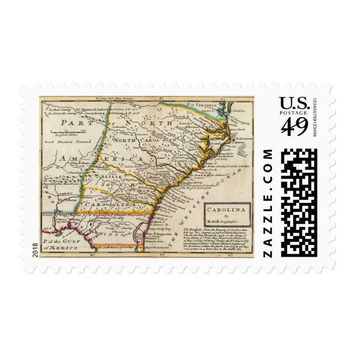 Carolina Postage Stamp