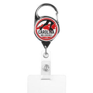 Carolina Rollergirls Badge Holder