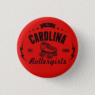 Carolina Rollergirls button