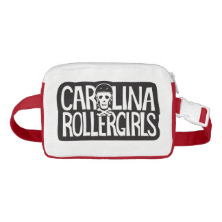 Carolina Rollergirls fanny pack