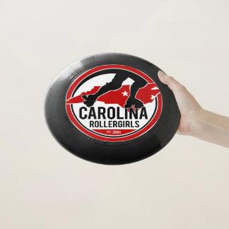 Carolina Rollergirls frisbee