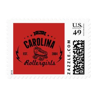 Carolina Rollergirls postage stamps