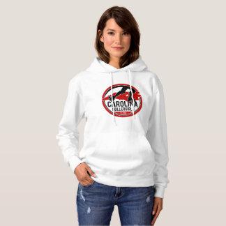 Carolina Rollergirls women's hooded sweatshirt