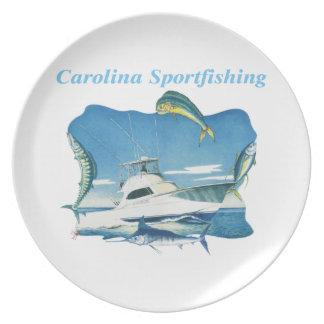 Carolina Sportfishing Plate