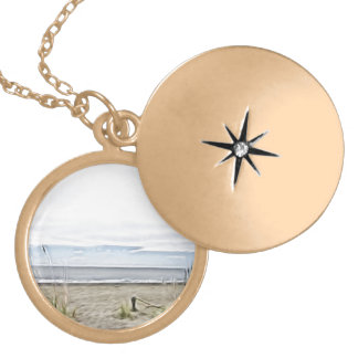 Carolina Tides Rolling In! Gold Plated Necklace