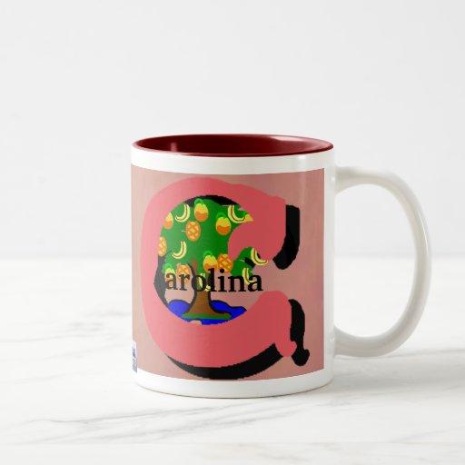 Carolina Tropics Name Mug