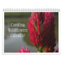 Carolina Wildflowers Calendar 2011 or 2012