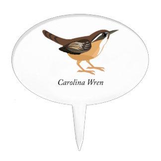 Carolina Wren Cake Topper