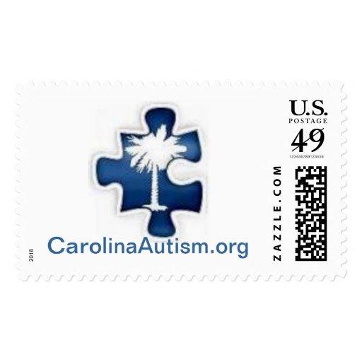 CarolinaAutism.org Stamps