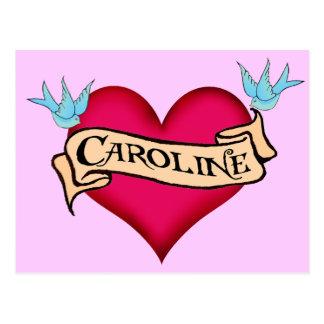 Caroline - camisetas y regalos de encargo del postal