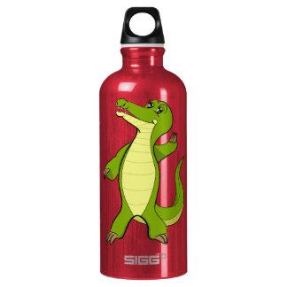 Caroline Crocodile Aluminum Water Bottle