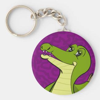 Caroline Crocodile Keychain
