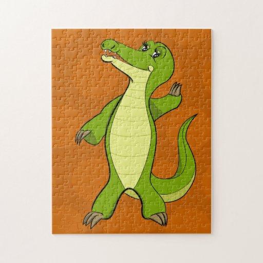 Caroline Crocodile Puzzle