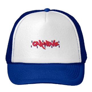 Caroline Graffiti Trucker Hat, Cap Trucker Hat