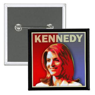 Caroline Kennedy para el senado de los E.E.U.U. Pin