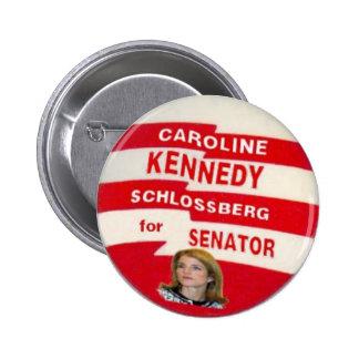 Caroline Kennedy Schlossberg Button