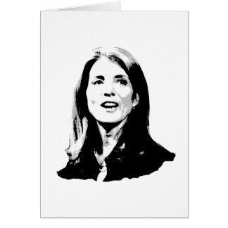 Caroline Kennedy T-shirts and Kennedy Gear Card