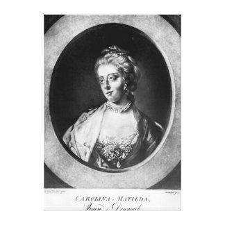 Caroline Matilda, Queen of Denmark and Norway Canvas Print