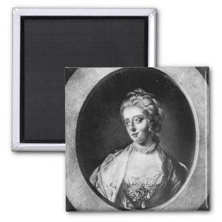 Caroline Matilda, reina de Dinamarca y de Noruega Imán Cuadrado