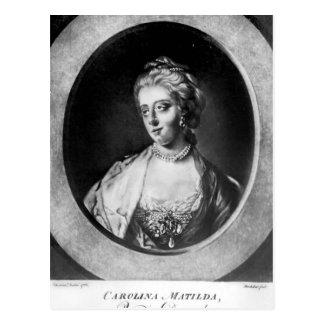 Caroline Matilda, reina de Dinamarca y de Noruega Postal