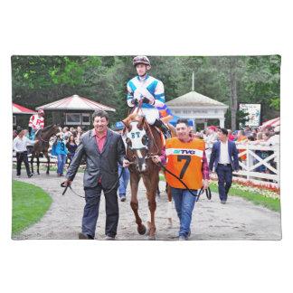 Caroline Thomas - Stakes Winning Filly Cloth Placemat