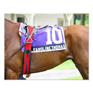 Caroline Thomas - Stakes Winning Filly Photo Print